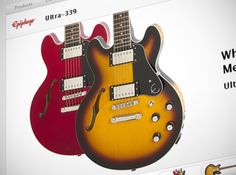 epiphone introduces ultra 339 es 339 pro toby standard iv and toby deluxe iv. Black Bedroom Furniture Sets. Home Design Ideas