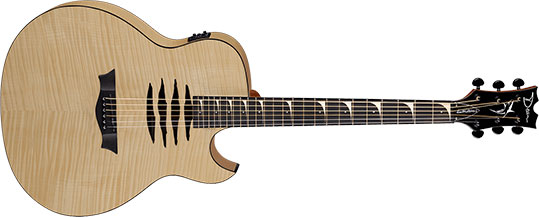Dean Mako Dave Mustaine A/E - Flame Top