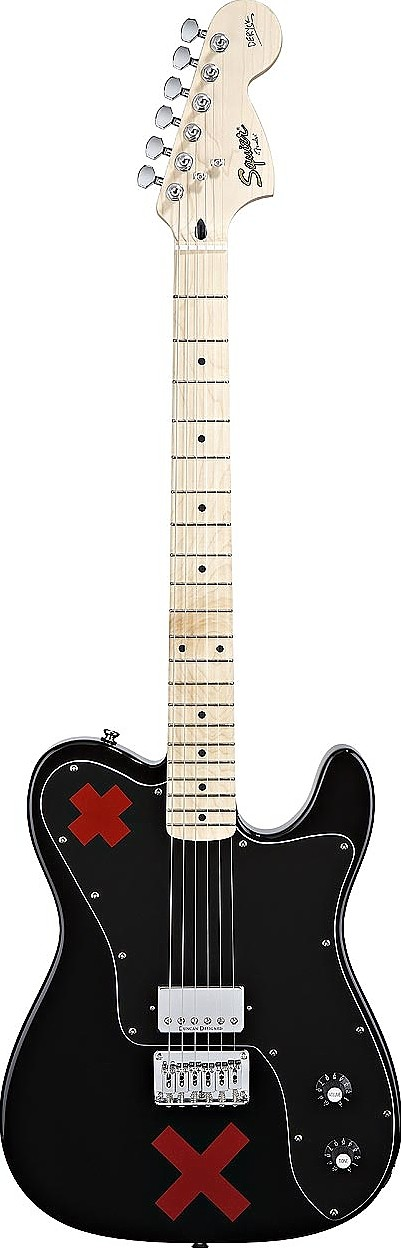 Deryck Whibley Telecaster by Squier by Fender