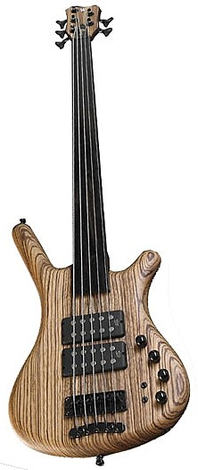 Corvette $$ SE Germany Ash Zebrano 5 Fretless by Warwick