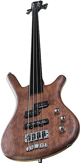 Corvette Standard SE Germany Ash Bubinga 4 Fretless by Warwick