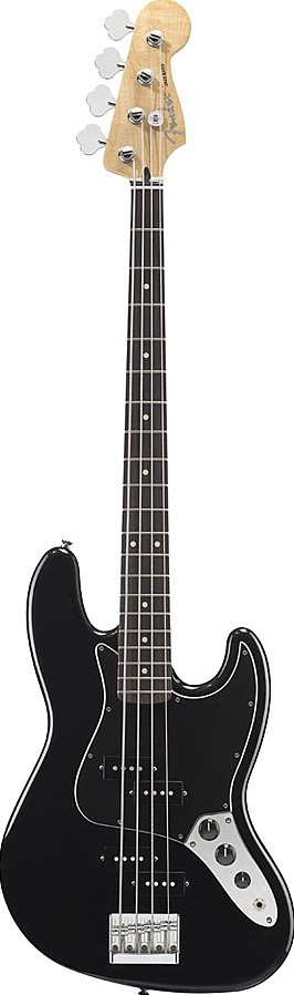 Blacktop Jazz Bass by Fender