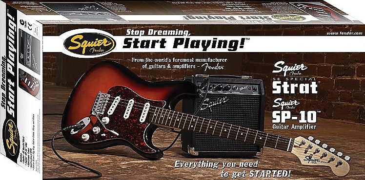 squier by fender se special with squier sp 10 amp review. Black Bedroom Furniture Sets. Home Design Ideas