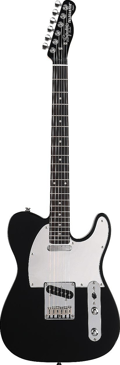 Black and Chrome Special Edition Tele by Squier by Fender
