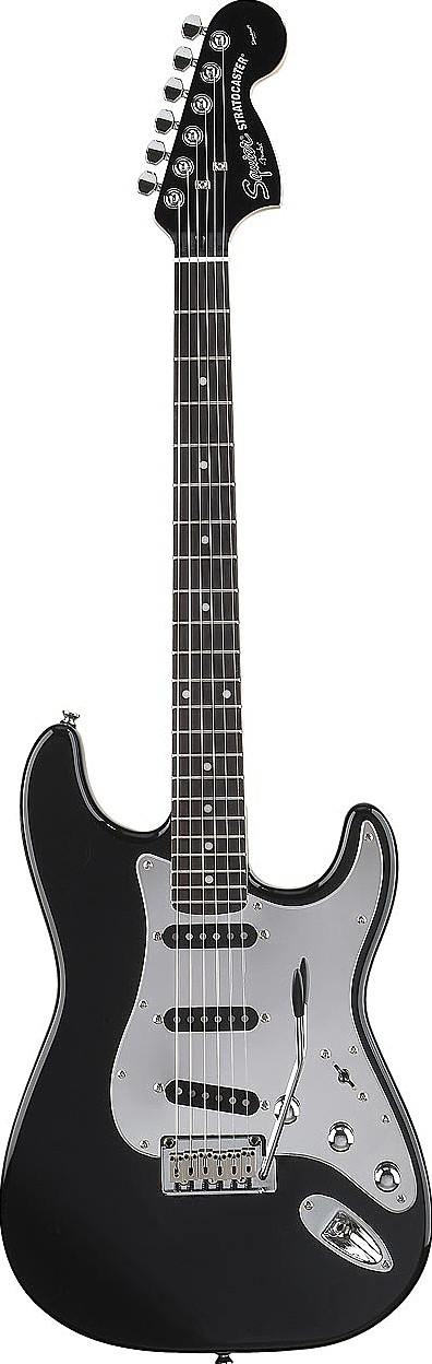 Black and Chrome Special Edition Strat by Squier by Fender