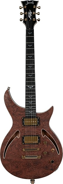 ZH-1 Bubinga V by Jarrell Guitars