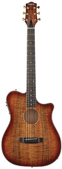 AC375 Thinline True Acoustic Electric Guitar by Carvin