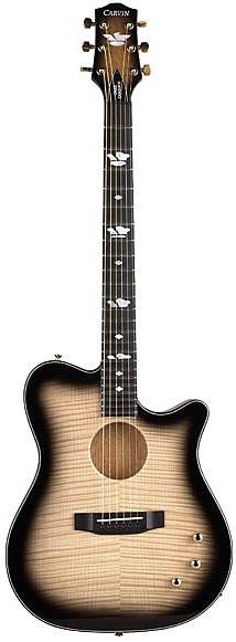 CC275 Craig Chaquico Signature Thinline Acoustic Electric Guitar by Carvin