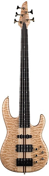 LB75A Anniversary Series 5-String Active Bass by Carvin