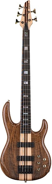 LB75W Claro Walnut Series 5-String Active Bass by Carvin