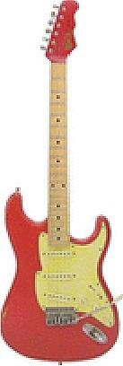 Stvdio Corona 60 (Red) by Fret King