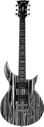 JZS-1 Zebra Hummer by Jarrell Guitars