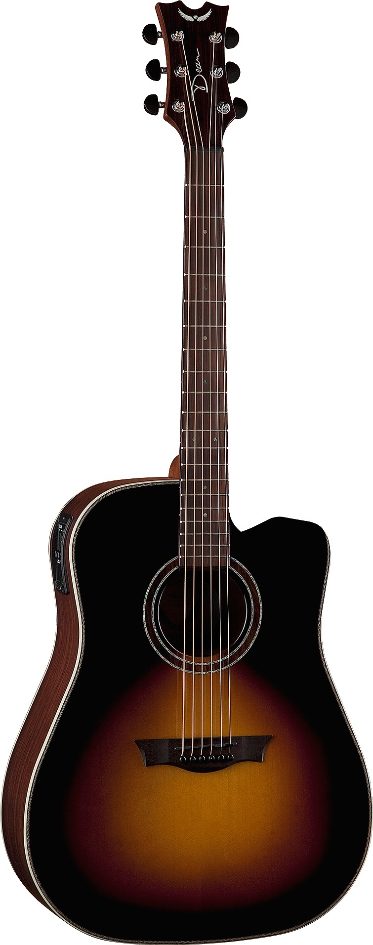 dean natural series dreadnought cutaway with aphex review. Black Bedroom Furniture Sets. Home Design Ideas