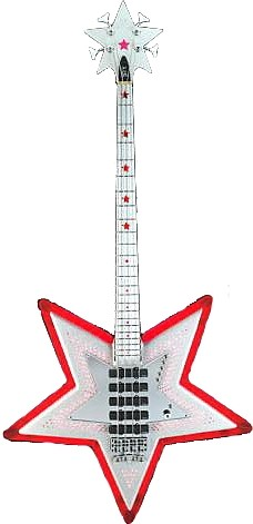 Bootsy Collins Spacebass by Warwick