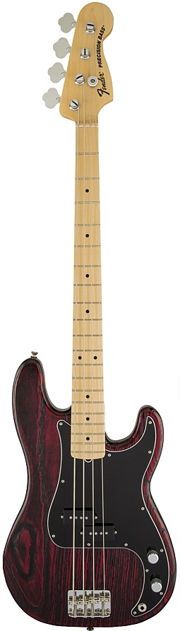 Limited Edition Sandblasted Precision Bass with Ash Body by Fender