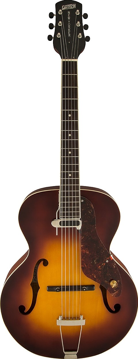 gretsch guitars g9555 new yorker archtop with pickup review. Black Bedroom Furniture Sets. Home Design Ideas