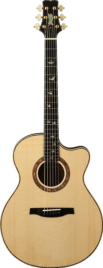 Private Stock Alex Lifeson Thinline Signature Acoustic by Paul Reed Smith