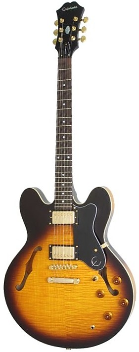 epiphone dot deluxe flametop review. Black Bedroom Furniture Sets. Home Design Ideas