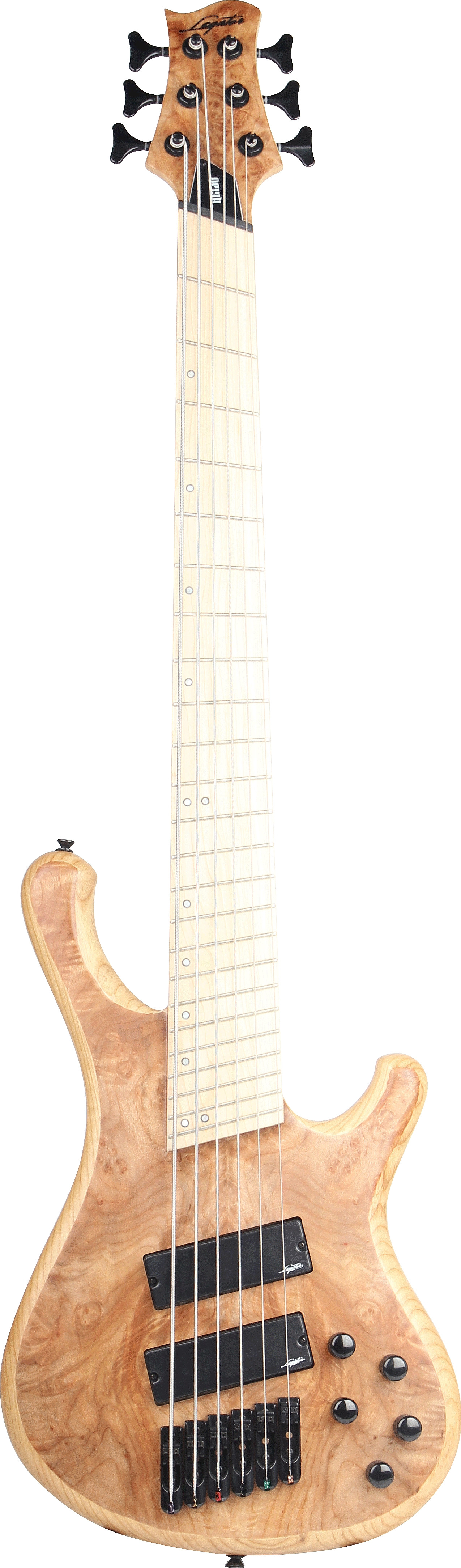 Helio Bass 300-PRO Fanned-Fret 6-String by Legator Guitars