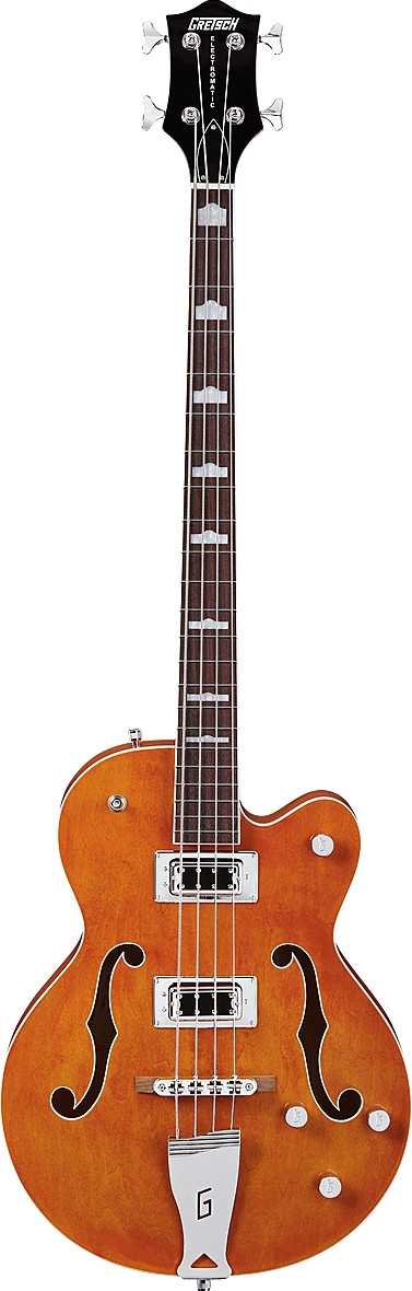 G5440LSB Electromatic Hollow Body, 34-Inch Long Scale Bass, Rosewood Fingerboard by Gretsch Guitars