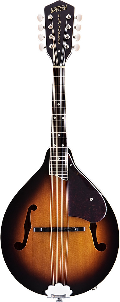 G9320 New Yorker Deluxe A.E. A-Style Mandolin, Piezo Pickup by Gretsch Guitars