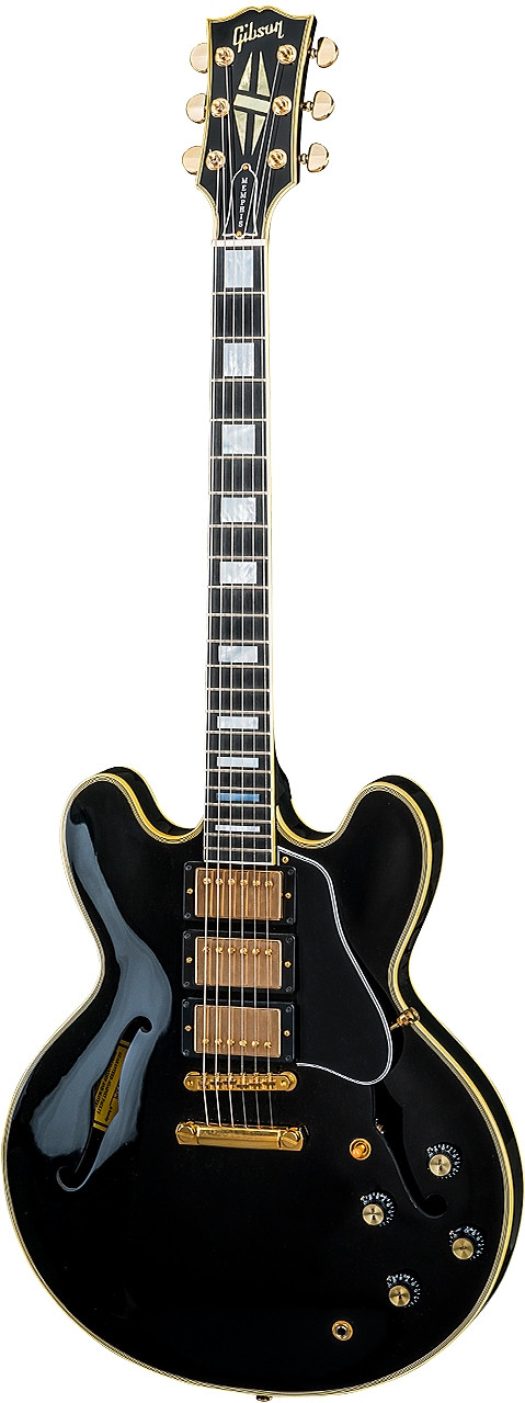 ES-335 Black Beauty 2018 by Gibson