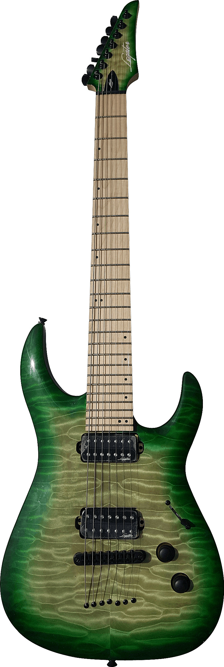 2018 Ninja 200-SE 7-String by Legator Guitars