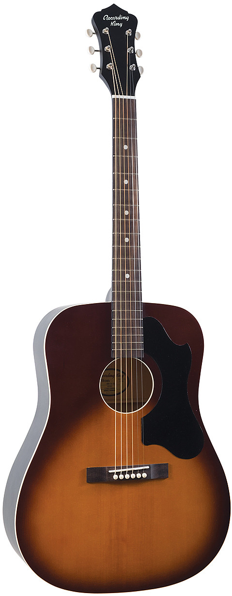 RDS-9-TS Recording King Dirty 30s Series 9 Dreadnought Acoustic Guitar by Recording King