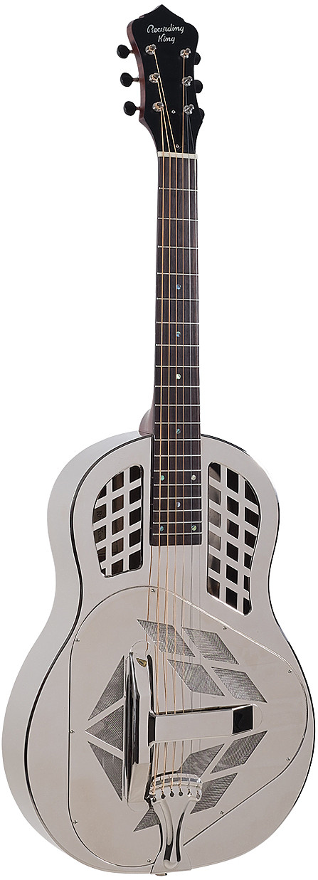 RM-991 Recording King Metal Body Resonator by Recording King