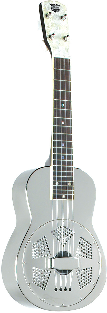 RU-998 Recording King Metal Body Resonator Ukulele by Recording King
