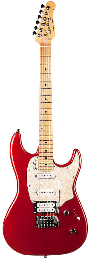 Session LTD Desert Red HG MN by Godin