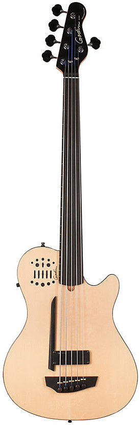 A5 Bass Ultra Natural SG Fretless EN SA by Godin
