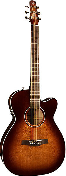 Performer CW Concert Hall Burnt Umber QIT by Seagull Guitars