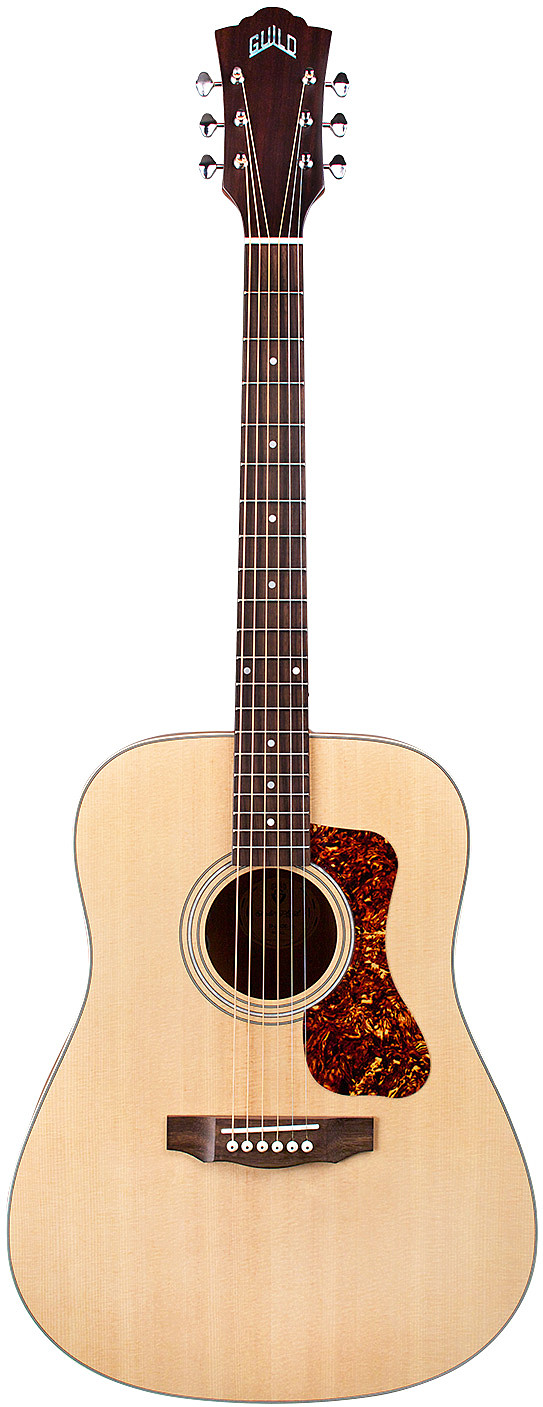 Westerly D-240E Flamed Mahogany by Guild