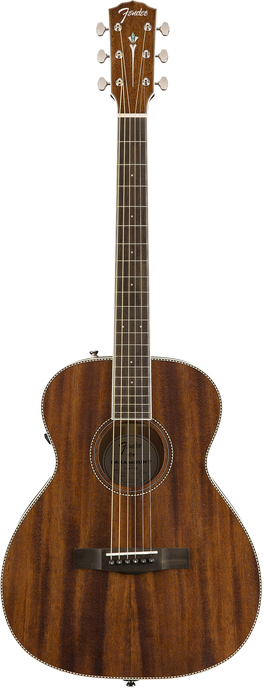 PM-TE Travel All-Mahogany by Fender