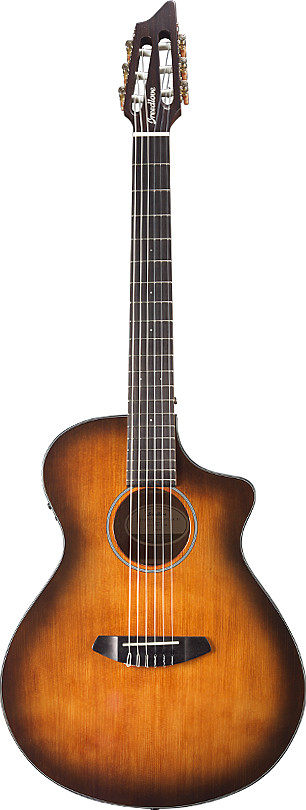 Discovery Concert Satin Bourbon Nylon CE by Breedlove