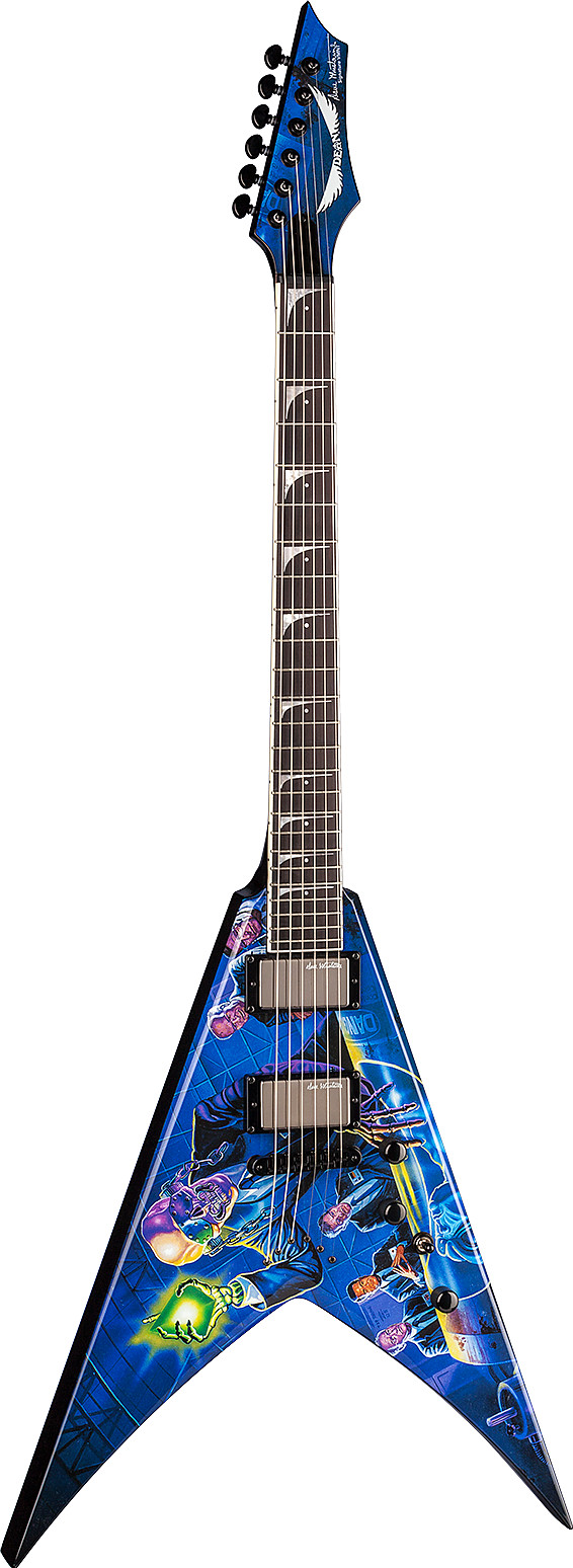 USA Dave Mustaine VMNT Rust In Peace by Dean
