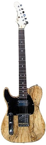ASAT Classic Bluesboy w/Spalted Maple Top Left Handed by G&L