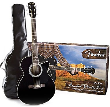 fender fa 130 acoustic electric pack review. Black Bedroom Furniture Sets. Home Design Ideas