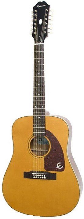 Ltd Ed Roy Orbison Signature 12-String Acoustic by Epiphone