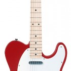 Metallic Red Maple Fretboard