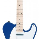 Metallic Blue Maple Fretboard