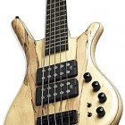 Warwick Corvette $$ SE France Spalted Maple 5