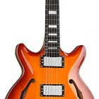 SH475 MIDI Synth Access Semi-Hollow Double Cutaway Carved Top Guitar