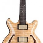 SH675 MIDI Synth Access Semi-Hollow Double Cutaway Carved Top Guitar