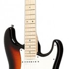Custom Deluxe Stratocaster with Flame Maple Top