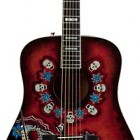 Fender Joe Wood Dia De Los Muertos Dreadnought