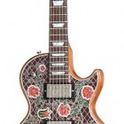 Lattice Roses Engraved Les Paul Special