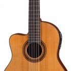 Dean Espana Solid Top Cutaway A/E Lefty