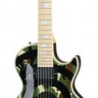 Zakk Wylde Signature Les Paul - Camo/Bull s-Eye